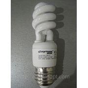 Лампа СПУТНИК Spiral mini 9Вт (E27) 4200K 8000H (10/60)
