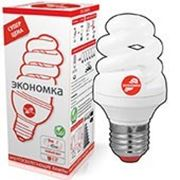 Лампа энергосберегающая 220v 9W фото