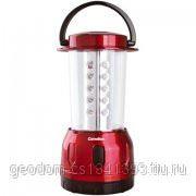 Camelion фонарь для кемпинга 30LED пластик. бордовый, 3хR20 фото