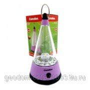 Camelion фонарь для кемпинга 20LED+1LED пластик. розовый, 3 реж., 4хR16 фото
