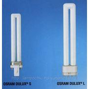 Лампа люминесцентная Dulux S, S/E 11w фото