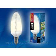 Лампа энергосберегающая Uniel свеча ESL-C11-P11/2700/E14