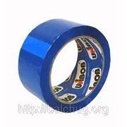 Скотч цветной 48*66 45мкм синий фото