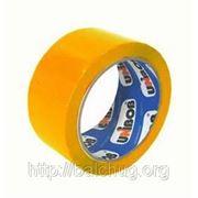 Скотч цветной 48*66 45мкм желтая Unibob фото
