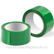 Скотч цветной (зеленый) фото