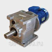 Мотор-редуктор соосно-цилиндрический R37-MS63/0.18кВт фото