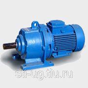 Мотор-редуктор двухступенчатый DRV040/90-MS80/0.55кВт фото