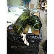 Резка стеклянных бутылок фото