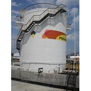 Резервуары стальные,вертикальные,горизонтальные,для химической продукции,и прочей
