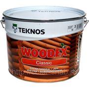 ВУДЕКС КЛАССИК ТЕКНОС (TEKNOS WOODEX CLASSIC), 9л - Антисептик для внешних работ. фото