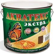 Акватекс Экстра цвет:РЯБИНА, защитно-декоративный состав для дерева, колерованный фото