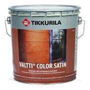 Антисептик для дерева, Тиккурила валтти валти колор сатин, Tikkurila valtti valti color satin, 2.7 л, полуматовая фото