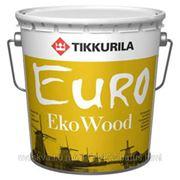 Тиккурила Тиккурила Евро Эко Вуд антисептик (2.7 л) красное дерево фото
