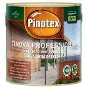 Защитное средство для древесины Pinotex Tinova Professional, 2.5 л, тик фото