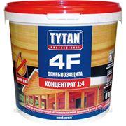 Селена Титан Титан F 4 Огнебиозащита (Professional) антисептик-антипирен (5 кг) красный фото