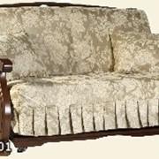 Мягкая мебель с отделкой натуральным деревом Фрегат фото