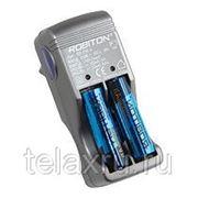 Компактное зарядное устройство для 2 или 4 аккумуляторов размера AA/R6 и AAA/R03 250mA Robiton SD250-4 фото