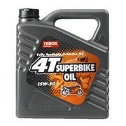 Масла для мототехники Teboil 4T SuperBike Oil SAE 15W-50 фото