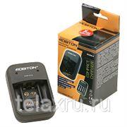 "Зарядное устройство для 1-2 9V ""крона"", 2 или 4 аккумуляторов размера AA/R6 и AAA/R03 250mA Robiton SC200-4 фото"
