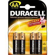 Батарейка Duracell TURBO AA (MN1500 (LR6), 1.5 В, щелочь (alkaline)). 4 шт. в упаковке. GF 707 фото