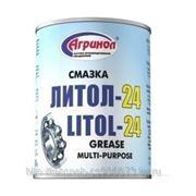 Смазка АГРИНОЛ Литол-24 барабан 4,5кг фото