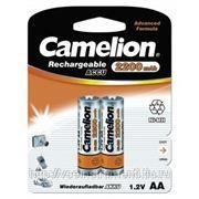 Аккумулятор camelion 1.2в aa-2200mah ni-mh bl-2, 3675 фото