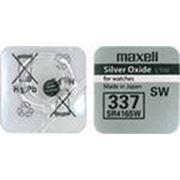 Элемент питания Maxell SR416SW 337 BL1 фото