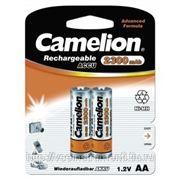 Аккумулятор 1.2в camelion aa-2300mah ni-mh bl-2, 5221 фото