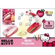 Мультпроектор 310124 HELLO KITTY с карандашами, на батарейках, на блистере фото