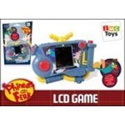 Электронная игра 460003 Финес и Ферб на батарейках, в коробке ТМ Disney фото