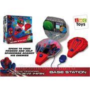 Рация spider-man с базой на батарейках, в коробке тм marvel (827144) фото