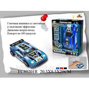 Машина ec80201r гонка, со светом и звуком, на батарейках, в коробке 20,5*9,5*25см s+s toys (835004) фото