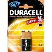Батарейка Duracell 6lr61 bp1 9в 1шт. (крона) фото