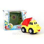Машина ec80066r грузовик со звуком, светом на батарейках в коробке 18,5*12*15,5см s+s toys (833684) фото
