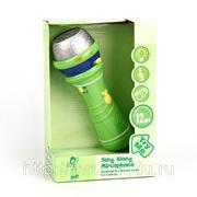 Микрофон 5301со светом и звуком, на батарейках, в коробке (836258) фото