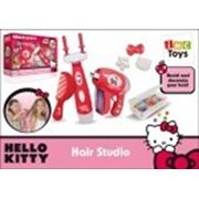 Набор 310032 Стилиста+украшения для волос HELLO KITTY на батарейках в коробке 36*9,5*26см фото