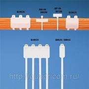 Стяжки с площадкой под маркировку (тип флажок и обертка) с металлическим зубом - Barb Ty DOME-TOP™ Panduit фото
