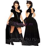 Карнавальный костюм - Черная королева фото