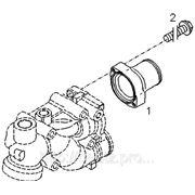 Выходной патрубок ОЖ двигателя фото