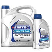 Антифриз Sintec Universal G11 синий 5 кг фото