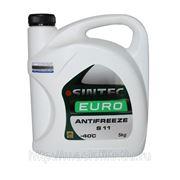 Антифриз Sintec EURO G11 зелёный 5 кг фото