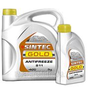 Антифриз Sintec GOLD G11 жёлтый 5 кг фото