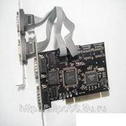 Контроллер PCI 4xCOM (NM9865) (OEM) фото