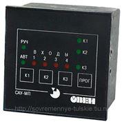 Прибор для управления системой подающих насосов ОВЕН САУ-МП фото