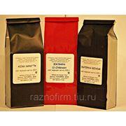 Упаковка чая в пакет по 100 г фото
