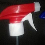 Триггер-курковый распылитель (белый с красным) на головину BPF-28 фото
