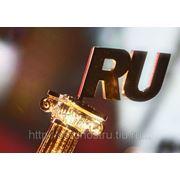 Купить доменное имя в зоне .ru фото