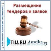 Размещение тендеров и заявок для сайта на tiu.ru фото