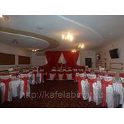 Свадьба в красном зале фото