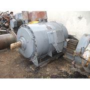 Электродвигатель ВАО2-500м 400кВт 1500об.мин 6000В фото